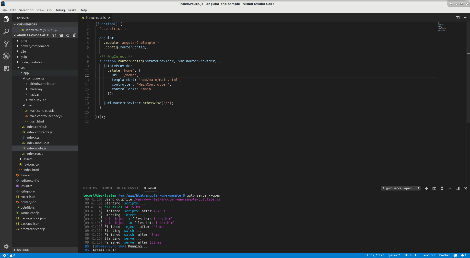 AngularJs remove # from url or setup Pretty URL